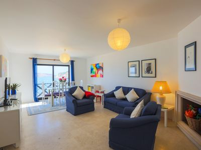 Photo for Apartment with Stunning Views on the beach, very Cozy and Comfortable