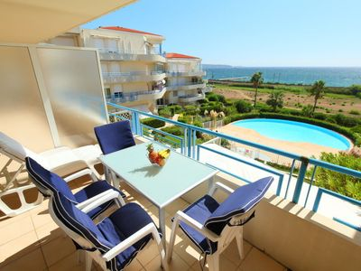 Photo for 2 bedroom Apartment, sleeps 4 in Golfe-Juan with Pool and WiFi