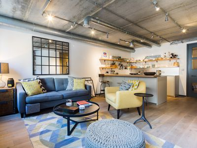 Photo for Industrial Loft-Style Flat near Museums and Markets