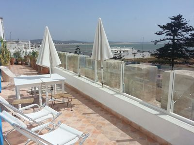 Photo for A House Overlooking The Port, Sea And The City Of Essaouira