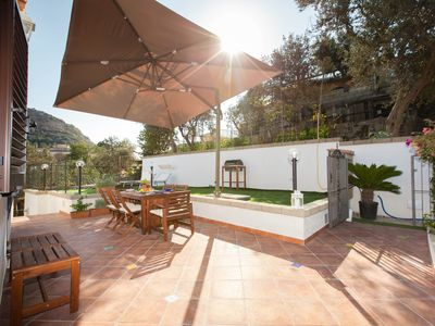 Photo for Amalfi Coast apartment with sea view, wifi and private terrace