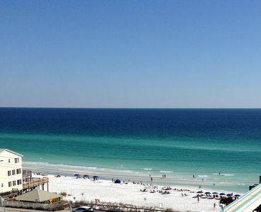 Spectacular Gulf View from every room! Huge 28 ft. balcony.  Beach chairs!👣👣