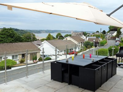 Photo for Am Byth Saundersfoot, modern six-bed holiday home with views overlooking the bay