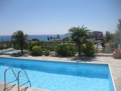 Photo for Air-conditioned Villa With Private Pool And Stunning Sea Views