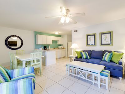 Photo for Sun Seeker #4 Ground Level Pet Friendly with Pool by the pIer