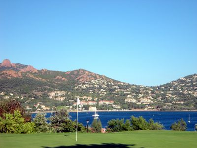 Photo for CAP ESTEREL village zone J4 - T2 jardin - ref. 289la