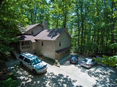 Photo for Beautiful newlisting.  3000 ft elevation mountain  getaway for the whole family