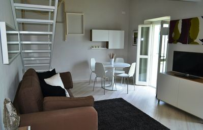 Photo for charming apartment with view on the lake of Como.