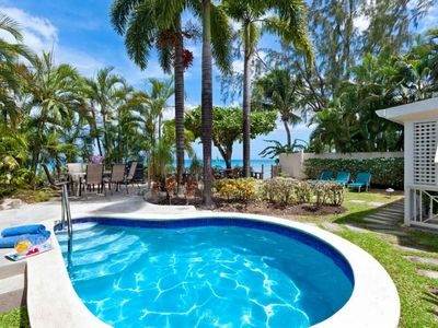 Seawards - Lovely relaxed 3 bedroom beach front villa with a fabulous location on the quiet beach