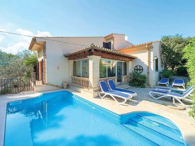 Photo for 4 bedroom Villa, sleeps 8 in Cala San Vicente with Pool and WiFi