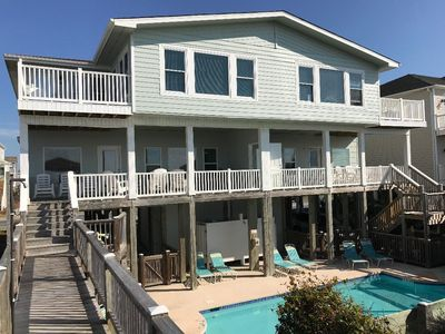 Photo for Spacious, beautiful, oceanFRONT home with pool