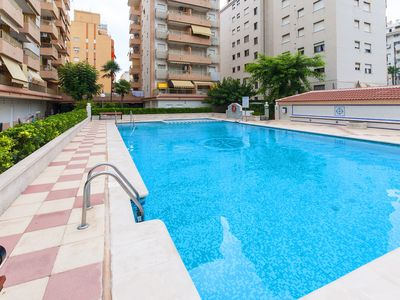 Photo for ESPEJO - Apartment with shared pool in Playa de Gandia.