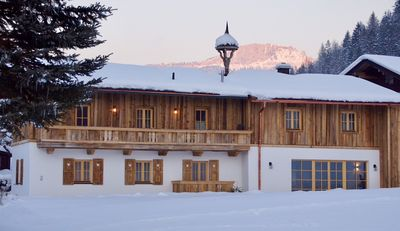 Photo for Old farmhouse and luxury chalet with fireplace and sauna in the Kitzbühel Alps