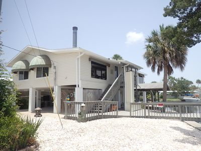 Photo for Direct Gulf access! Stilt Home on the Homosassa River