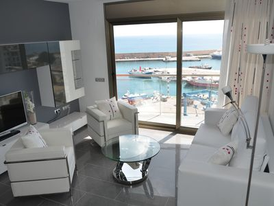 Photo for The new apartment, Casa Cleo, has a frontal breathtaking sea views.