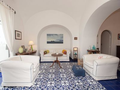 Photo for Charming apartment in Positano centre, 150m from the beach