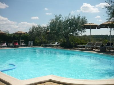 Photo for Peaceful farmcottage close to Tuscany 's best treasures only 1 mile from shops