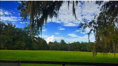 Photo for SCENIC EQUESTRIAN VIEWS 1/1 FURNISHED PRIVATE APT, PETS OK