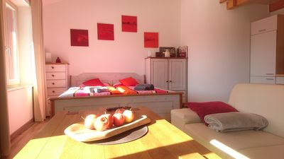 Photo for cozy apartment 40m2 Lapwing on the outskirts of Rosenheim Upper Bavaria