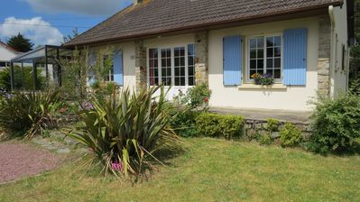 Photo for Detached House and big garden in quiet area just a short walk to beautiful beach