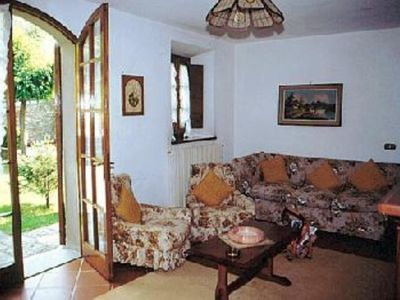 Photo for Apartment with large garden. 10 minutes to the sandy beach.