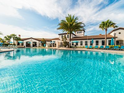 Photo for [ Close to Disney ] 7 Bed Pool Villa - Great Deal
