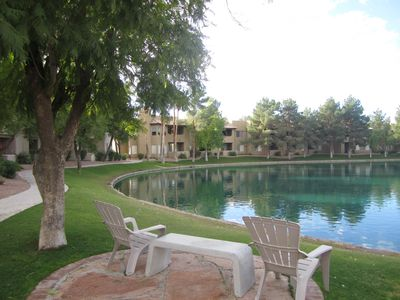 Lovely Ground Level Condo At Andersen Springs Lakes, Great Community