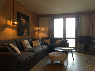 Photo for Arpalles 3 bedroom stunning apartment sleeps 8 Les Coches Paradiski
