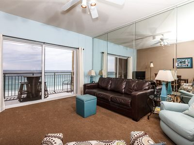 Photo for Pelican Isle 610: RELAXING TOP FLOOR CONDO, PANORAMIC VIEWS, COMFORTABLE