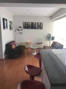 Photo for 2 Bedroom / One Bathroom, Fully-Furnished Miraflores Apartment