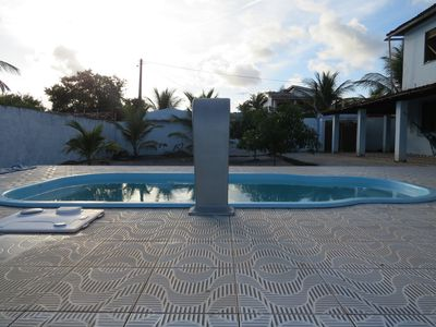 Photo for House in Guaibim with pool - 5 bedrooms (2 suites and 1 qiarto w / air) + WI FI