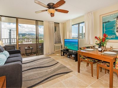 Photo for Nicely Refreshed End Unit  Royal Kuhio Condo Full Kitchen and Free Parking