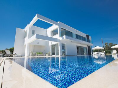 Photo for Villa Sabine,Exquisite 3BDR Protaras Villa with Private Pool and Panoramic Views