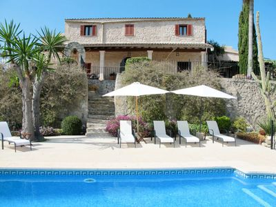 Photo for 5 bedroom Villa, sleeps 10 in Sant Joan with Pool and WiFi