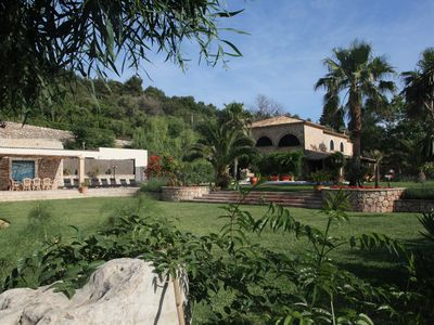 Photo for TYPICAL HOUSE MALLORQUINA. NOT FAR FROM THE HISTORICAL CITY OF POLLENSA.