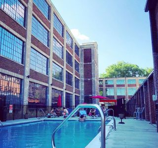 Photo for Cozy Germantown Textile Mill-turned-Loft