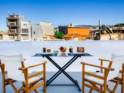 Photo for New!Charming rooftop apartment with Acropolis view