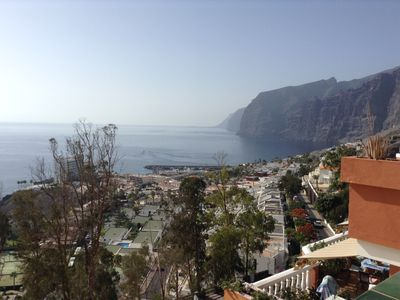 Photo for Beautiful apartment with impressive views on the sea and cliffs of Los Gigantes
