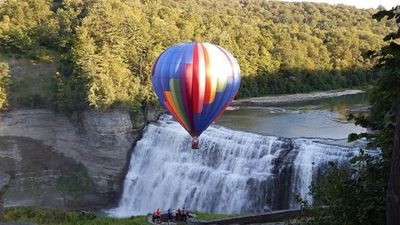Letchworth State Park Middle Falls