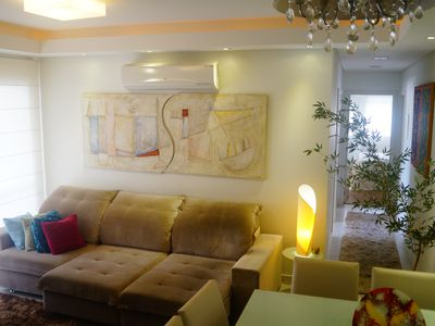 Photo for Beautiful and cozy apartment in Florianópolis.