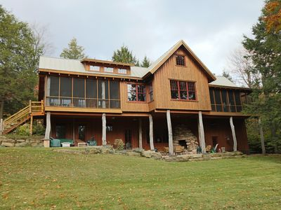 Photo for Algonac - Luxury Timber Lodge in Eagles Mere PA