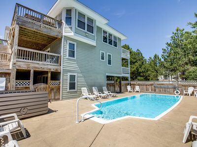 Photo for Jones Beach House | 1200 ft from the beach | Private Pool, Hot Tub