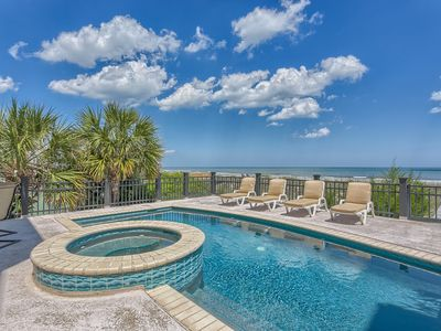 Photo for Exquisite 6 Bedroom Oceanfront Home with Pool, Spa, Billiard Room & Putt Putt