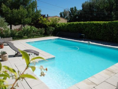 Photo for Bed and breakfast near Avignon, heated swimming pool wifi secure parking in a quiet area