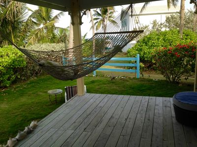 Photo for Bahamian Cottage with Abaco Sea View, Generator, Beach Access