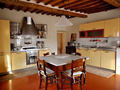 Photo for Spacious Tuscan Apartment in 15th Century Palazzo in Sarteano