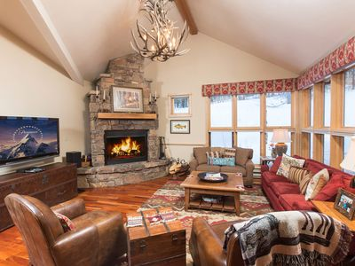 Photo for Moose Creek Condo in Teton Village with private hot tub!