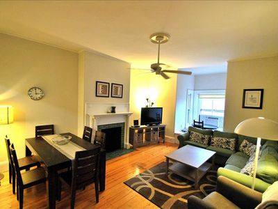 Photo for Back Bay Boston Furnished Apartment Rental 296 Marlborough Street Unit 6