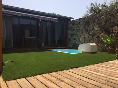 Photo for CORRALEJO-Villa Tranquila with private pool, WIFI, BBQ and wood oven