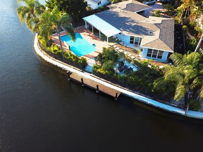 Photo for Ft. Lauderdale Luxury Waterfront Home w/ Large Private Saltwater Pool & Big Yard
